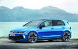 2021 Volkswagen Golf R Plus, rendered by Autocar
