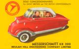 Messerschmitt KR200 advert from 1955