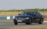 Jaguar XJ drift