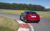 Alfa Romeo Giulia Quadrifoglio rear cornering