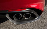 Alfa Romeo Giulia Quadrifoglio quad exhausts