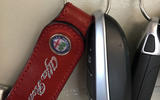 Alfa Romeo Giulia Quadrifoglio keys