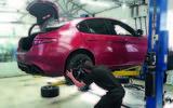 Alfa Romeo Giulia Quadrifoglio longterm wheel replacement