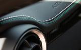 Alfa Romeo Giulia Quadrifoglio stitched leather upholstery