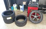 Alfa Romeo Giulia Quadrifoglio new rubber