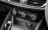 Alfa Romeo Stelvio climate control