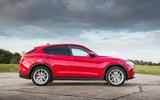 Alfa Romeo Stelvio side profile