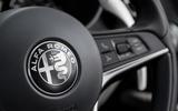 Alfa Romeo Stelvio steering wheel