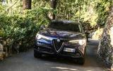 Alfa Romeo Stelvio front end
