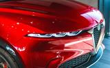 Alfa Romeo Tonale front side close