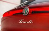 Alfa Romeo Tonale rear light and badge