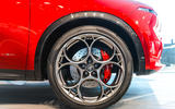 Alfa Romeo Tonale wheel  and brakes