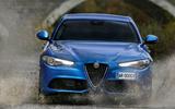 Alfa Romeo Giulia Veloce front end
