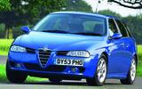 2003 Alfa Romeo 156 JTD wagon - cornering front