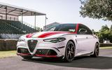 Alfa Romeo Giulia F1 edition - Goodwood festival of speed 2019 reveal - rear