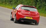 Alfa Romeo Giulietta - tracking rear