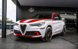 Alfa Romeo Stelvio F1 edition - Goodwood festival of speed 2019 reveal - front