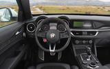Alfa Romeo Stelvio Quadrifoglio cabin