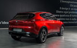 Alfa Romeo Tonale concept - rear