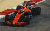 Fernando Alonso McLaren Honda Bahrain Grand Prix 2017