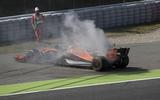 Fernando Alonso Spanish Grand Prix practice McLaren-Honda 2017