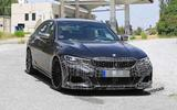 Alpina B3 Biturbo spy shot - front