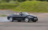 Alpina B4 Biturbo Convertible drifting