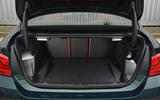 Alpina B4 S boot space