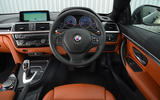 Alpina B4 S dashboard