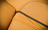 Alpina B7 perforated leather seats