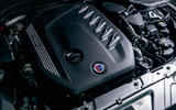Alpina B3 S 2020 official images - engine