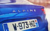 Alpine A110 badging