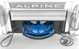 Extreme Alpine A110 Cup racing model previewed in first sketch