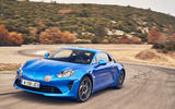 Alpine A110 on track