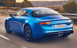 Alpine A110 rear