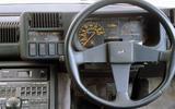 Alpine A310 steering wheel