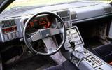 Alpine A610 interior
