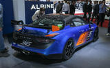 Alpine A110: GT4 and Cup motorsport versions of sports car shown at Goodwood