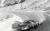 Renault Alpine drift