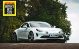 Britain's Best Car Awards 2020 - Alpine A110