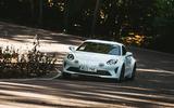 Britain's Best Car Awards 2020 - Alpine A110 cornering