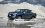 Volkswagen Amarok gravel off-roading