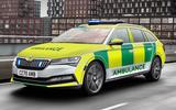 Skoda Superb ambulance