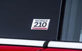 Mini Cooper S Works 210 badging