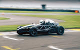 Ariel Atom 4 on track - front