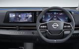 2020 Nissan Ariya - steering wheel