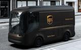UPS electric van Arrival