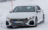 Volkswagen Arteon R spy photos - nose