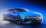 Volkswagen Arteon Shooting Brake sketch