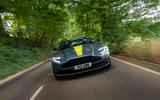 Aston Martin DB11 UK first drive front